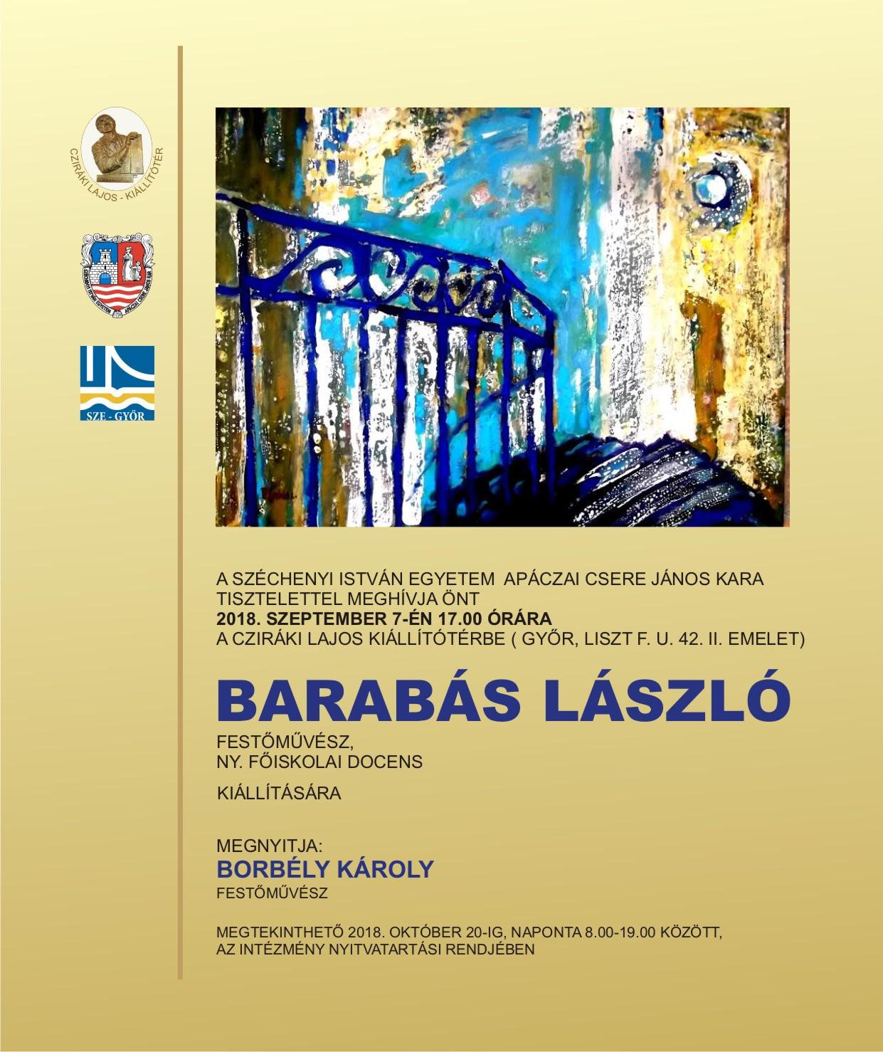 Barabás László kiállítása